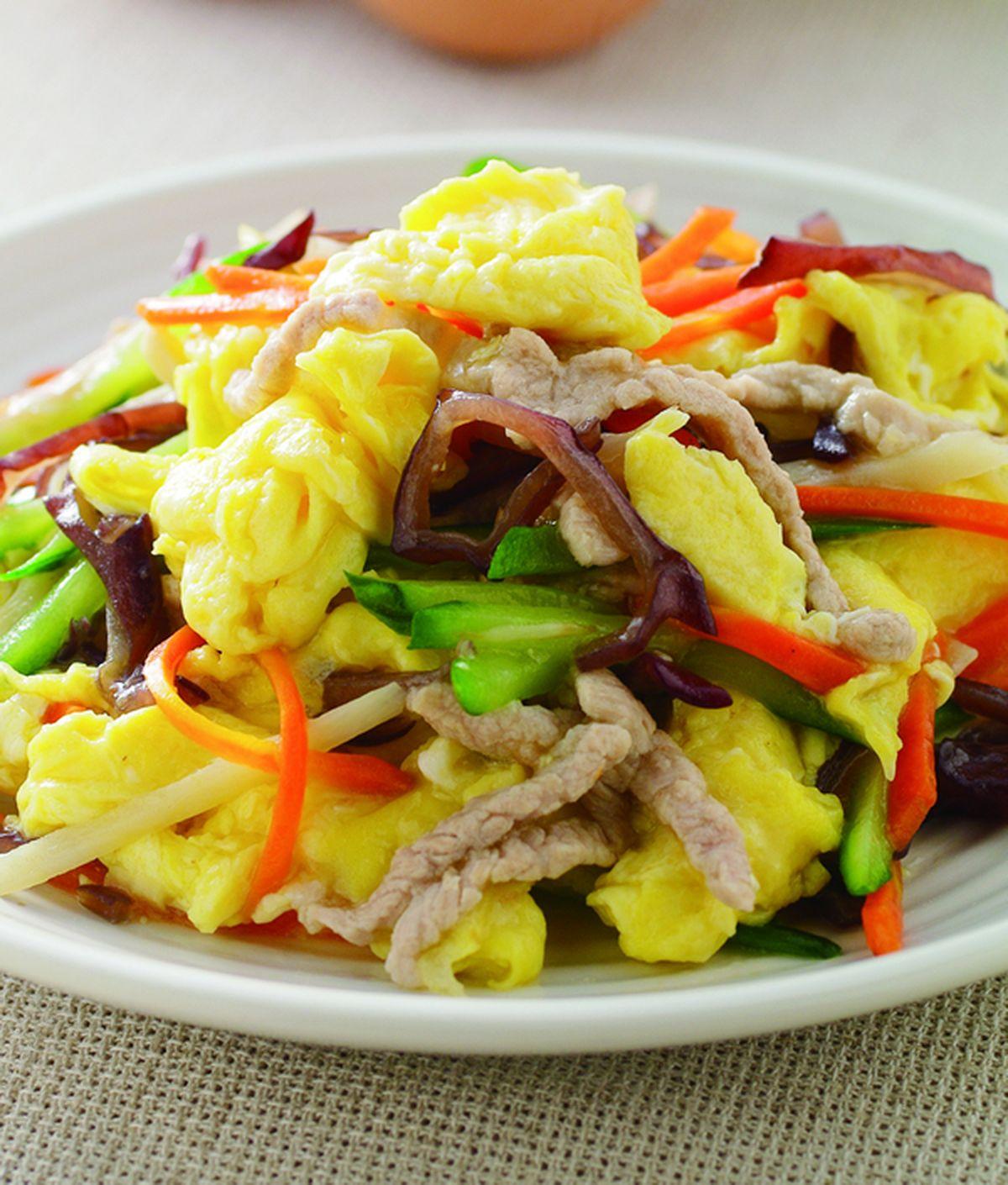 食譜:木須炒蛋(1)
