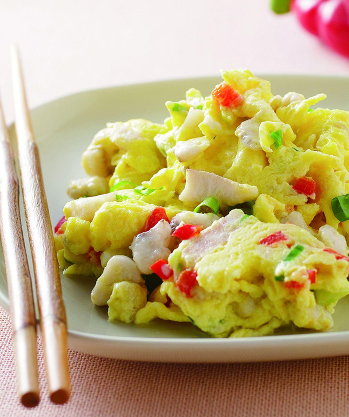 食譜:魚蓉炒蛋