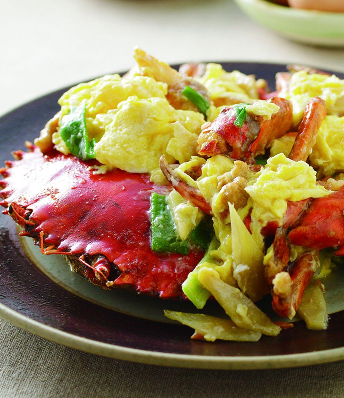 食譜:芙蓉炒蟹(1)
