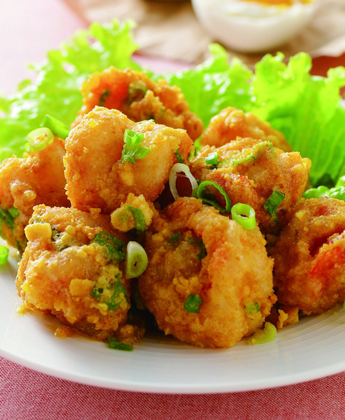 食譜:金沙蝦球(1)