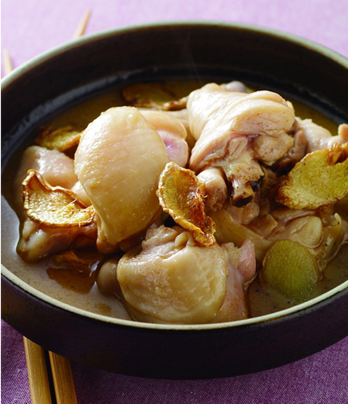 食譜:麻油雞(4)