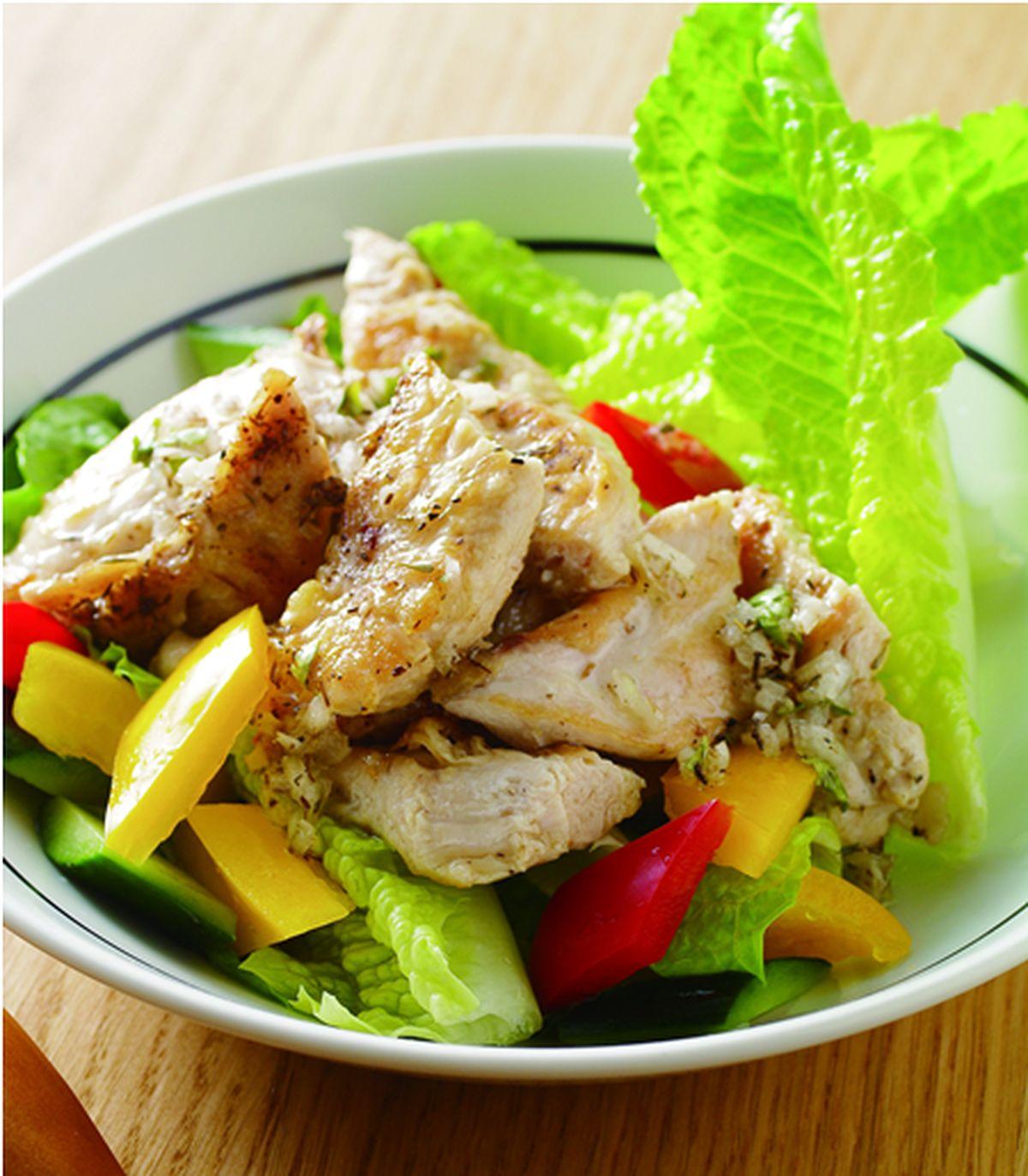 食譜:油醋雞肉沙拉