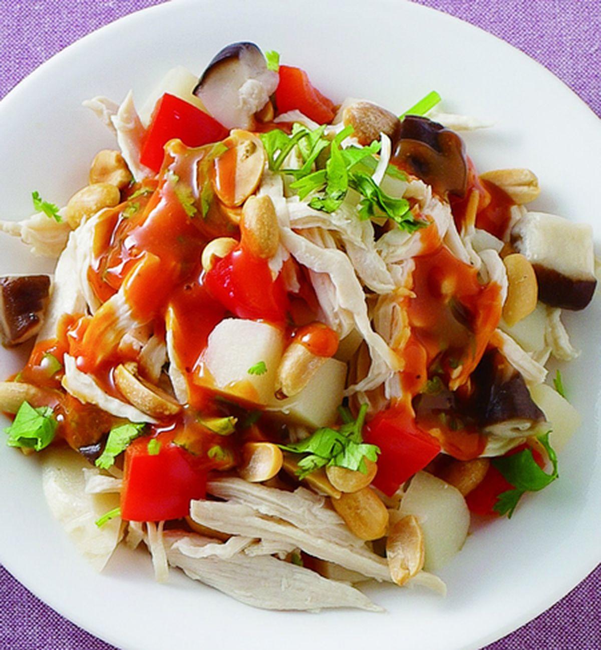 食譜:海山醬涼拌雞絲