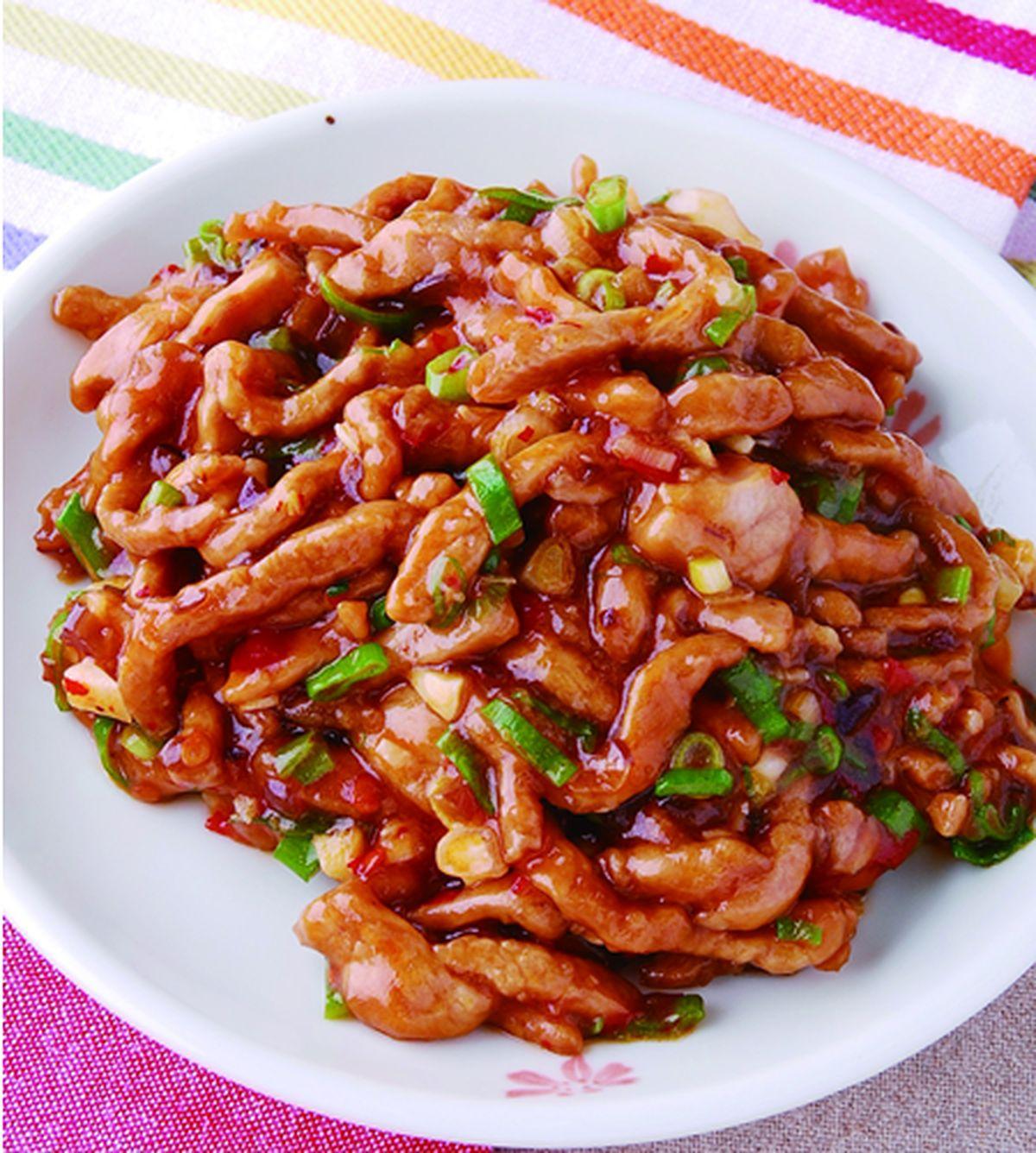 食譜:魚香肉絲(2)