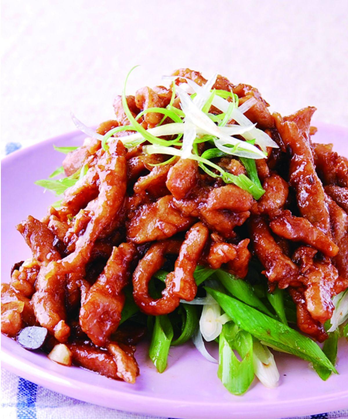 食譜:京醬肉絲(5)