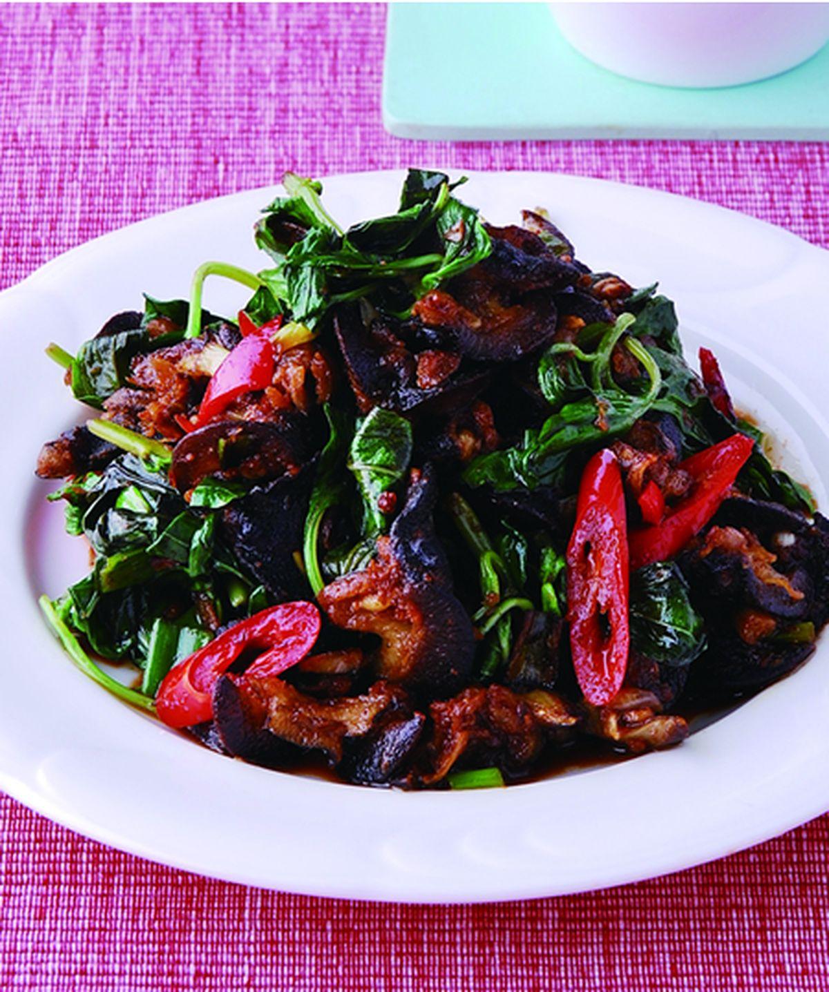 食譜:塔香螺肉(1)