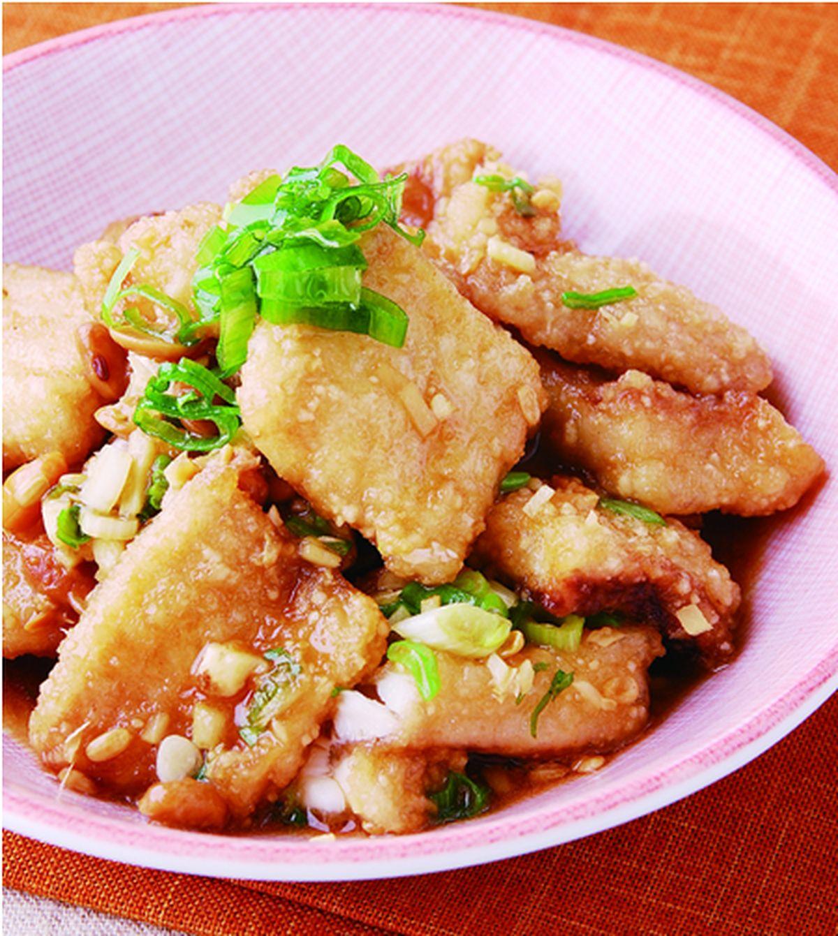 食譜:豆醬魚片