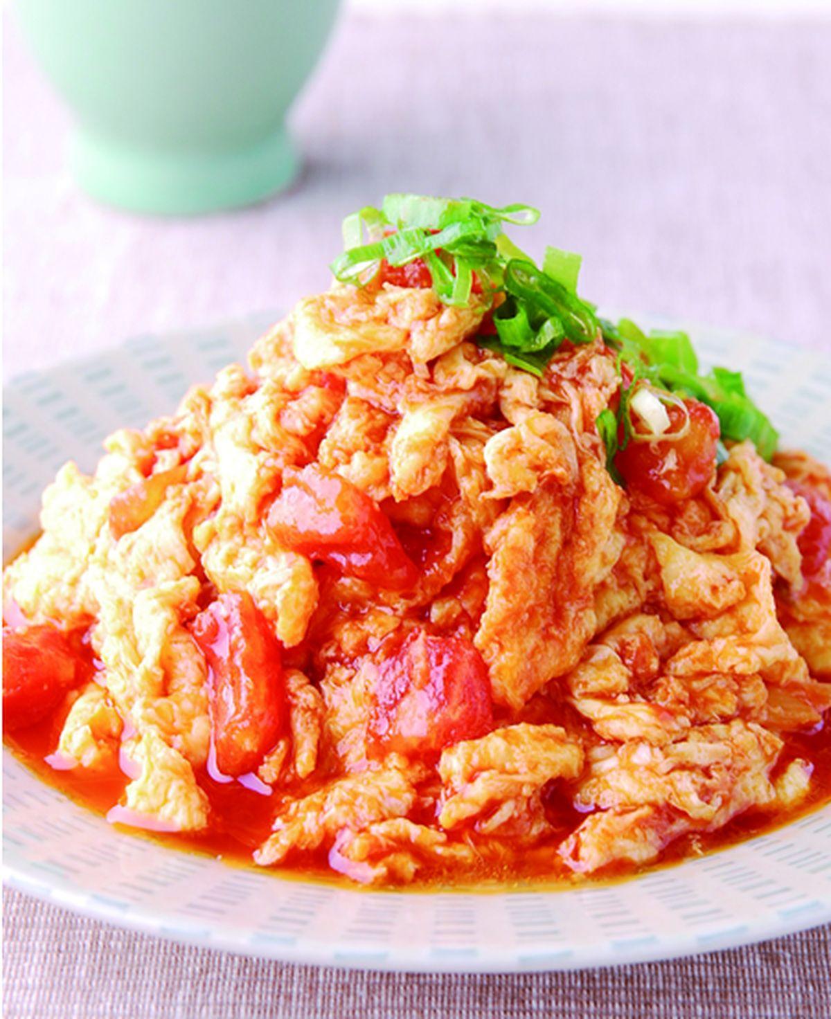 食譜:蕃茄炒蛋(2)