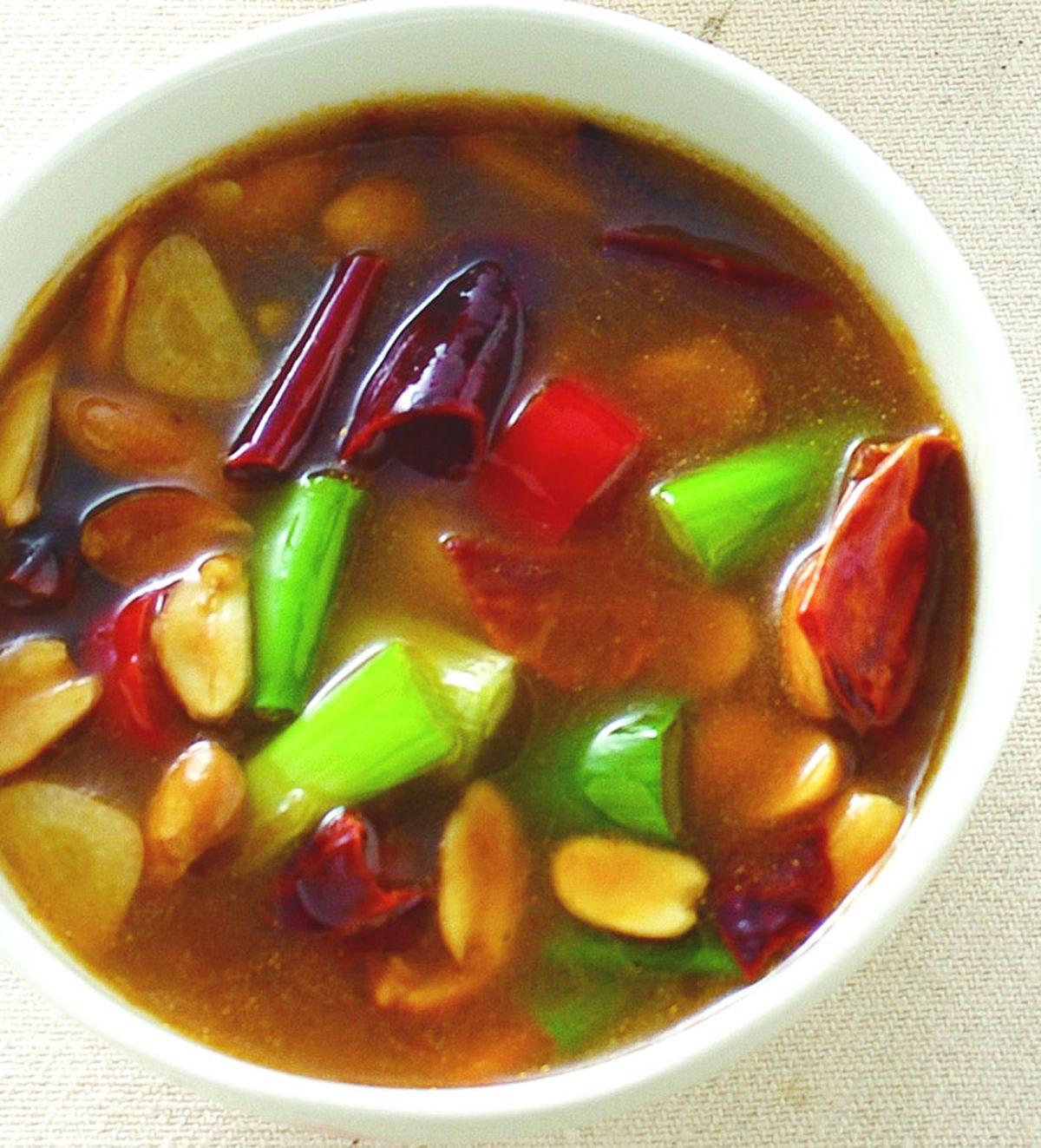 食譜:川式椒麻醬