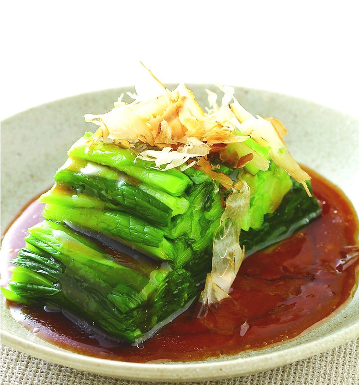 食譜:白灼韭菜(1)