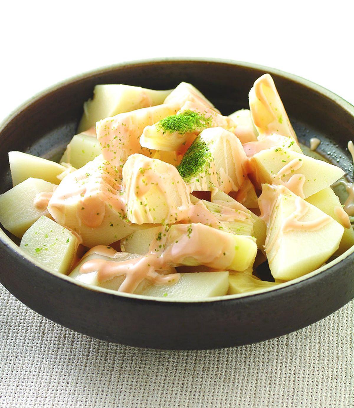 食譜:海苔涼拌冷筍