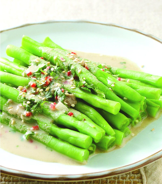 食譜:胡麻四季豆