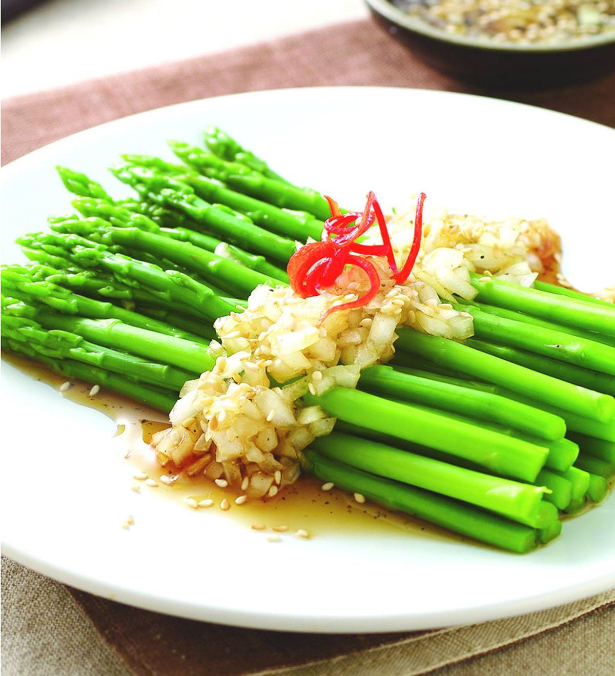 食譜:和風蘆筍