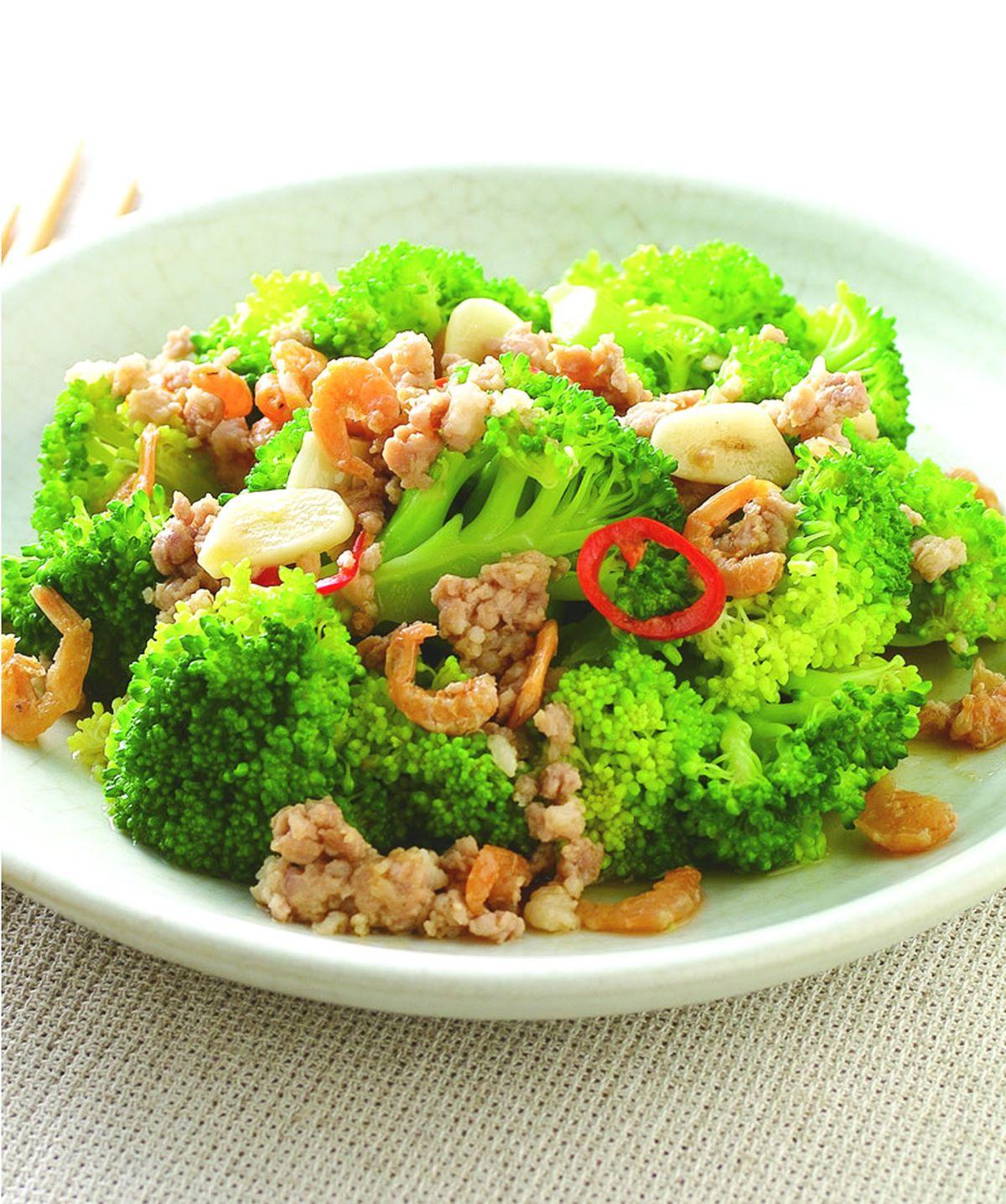 食譜:醬汁西蘭花