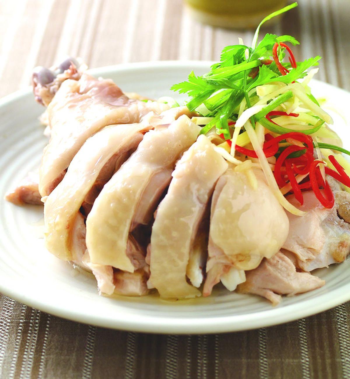 食譜:蔥油雞腿(1)