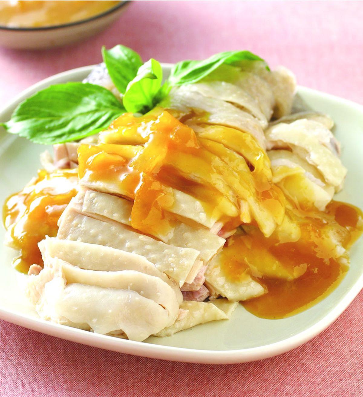 食譜:柚香白切雞