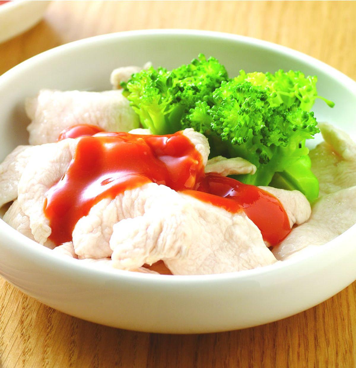 食譜:粉嫩雞胸肉