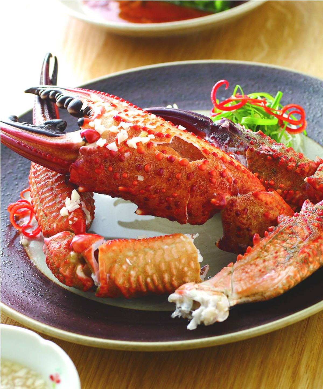 食譜:醋味蟹腳
