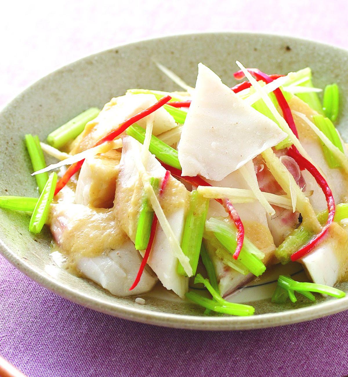 食譜:味噌燙魚片