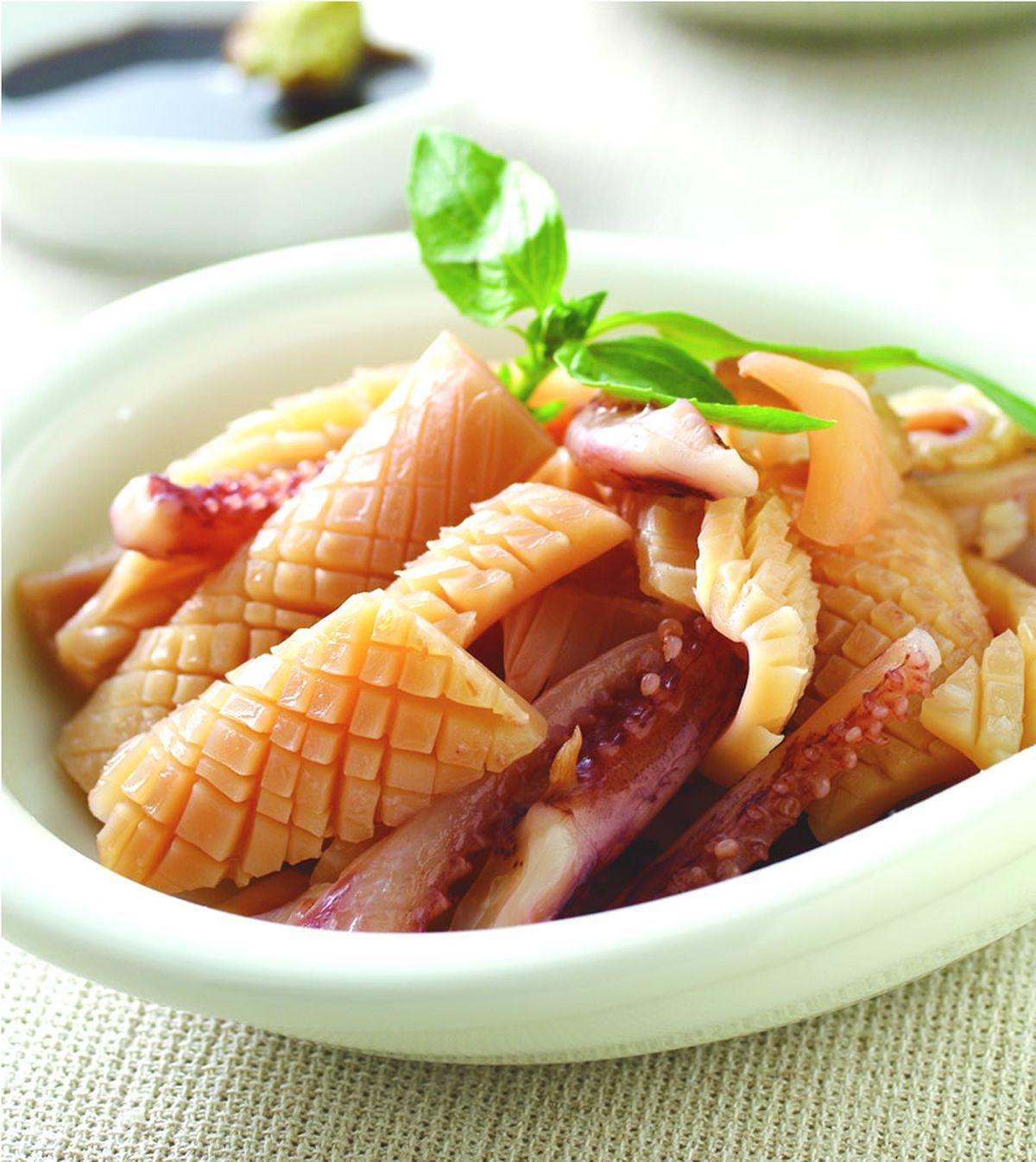 食譜:水煮魷魚
