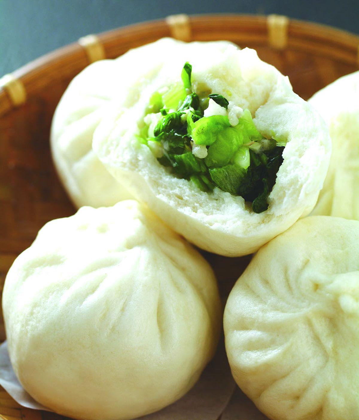 食譜:青江菜包