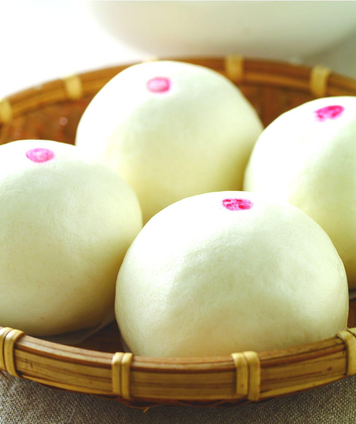 食譜:綠豆蛋黃包