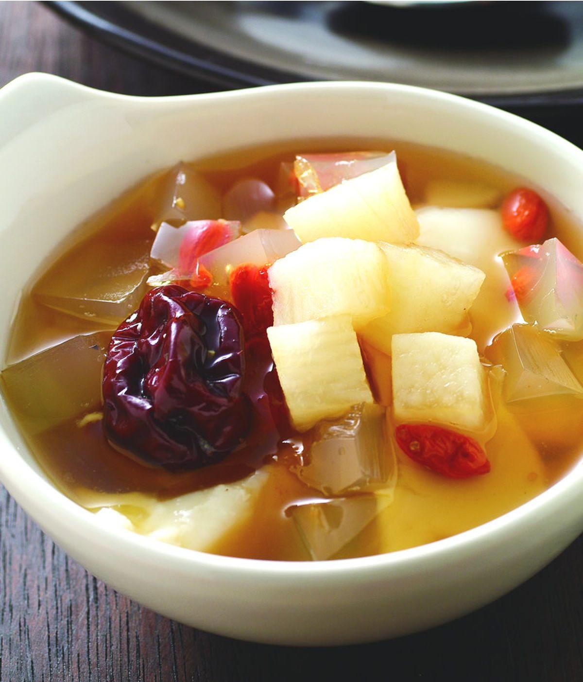 食譜:寒天養生豆花