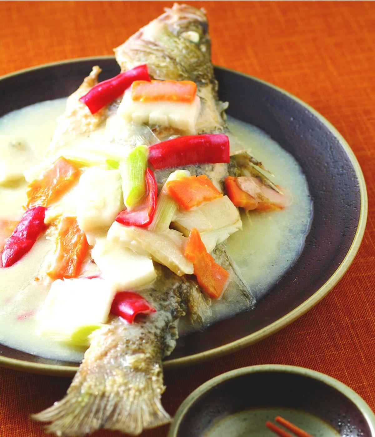 食譜:豆漿燒魚