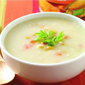 雞蓉豆漿玉米湯