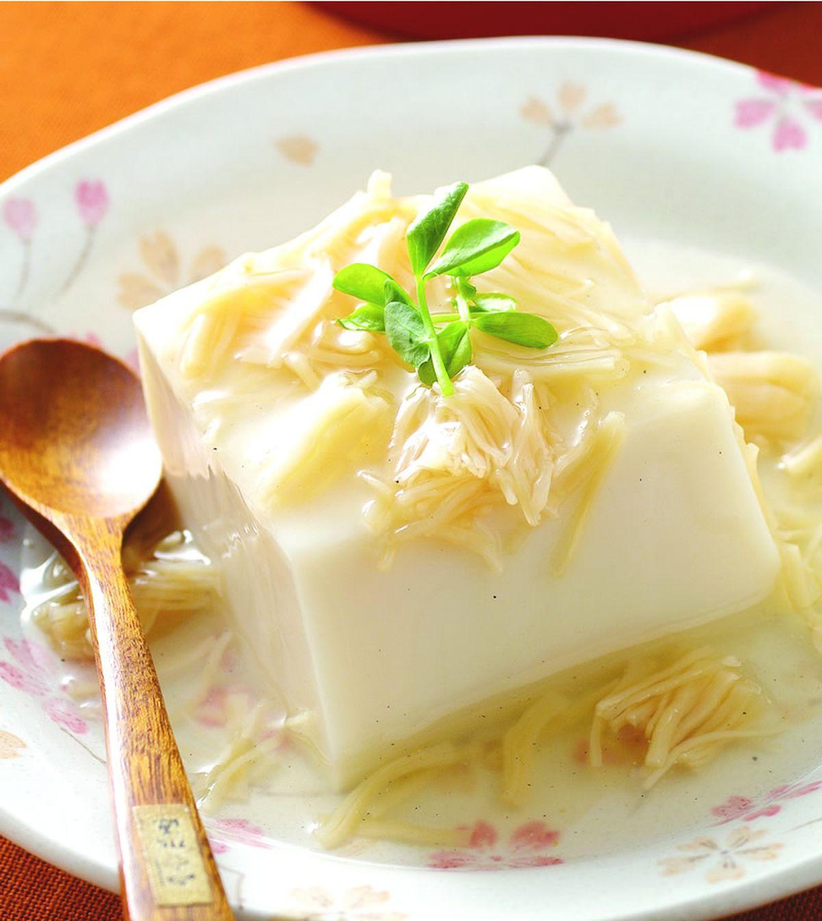 食譜:干貝燴豆花