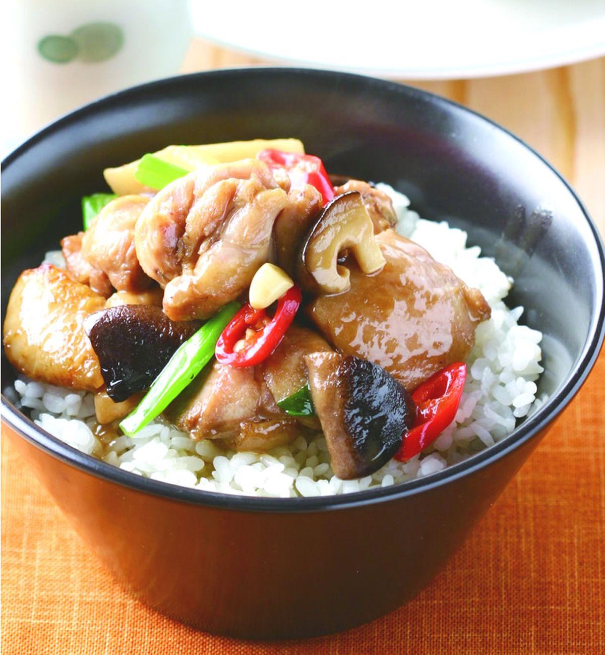 食譜:香菇雞肉飯(1)