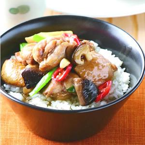 香菇雞肉飯(1)