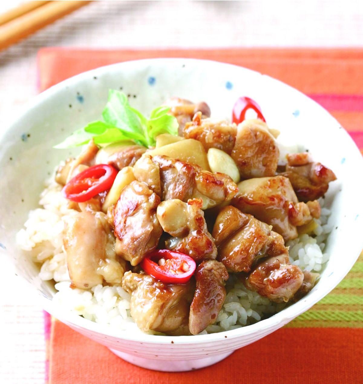 食譜:塔香雞丁飯