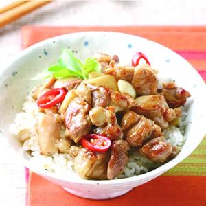 塔香雞丁飯