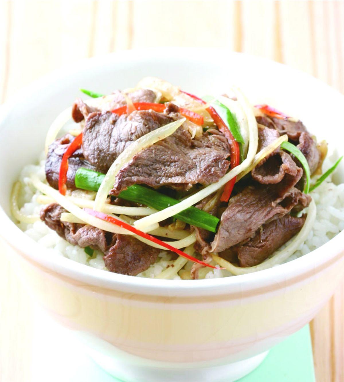 食譜:乾燒牛肉飯