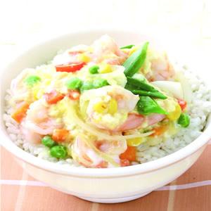 滑蛋蝦仁燴飯(4)