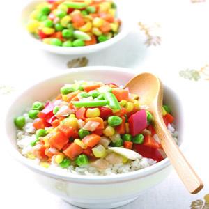 什錦蔬菜飯