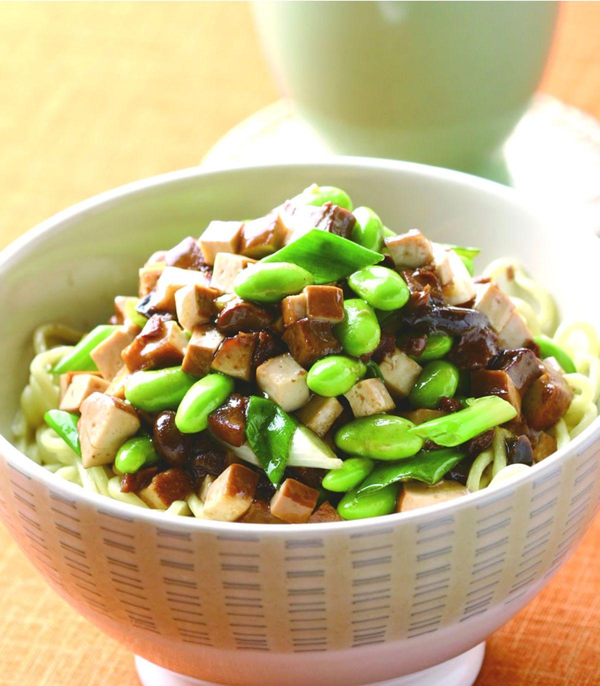 食譜:拌飯醬豆乾拌麵