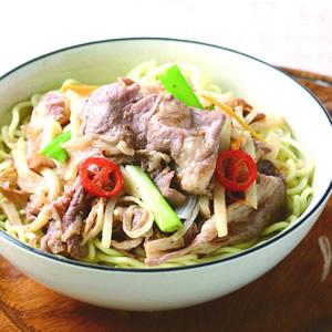 沙茶羊肉麵(2)