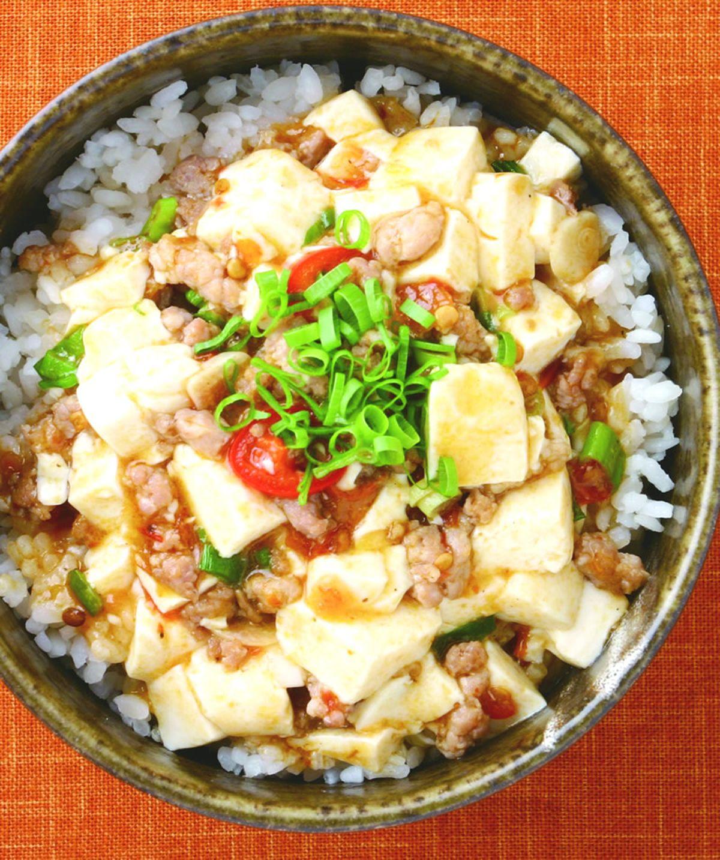 食譜:麻婆豆腐飯
