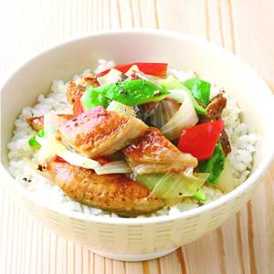 蒲燒鰻魚黃瓜飯