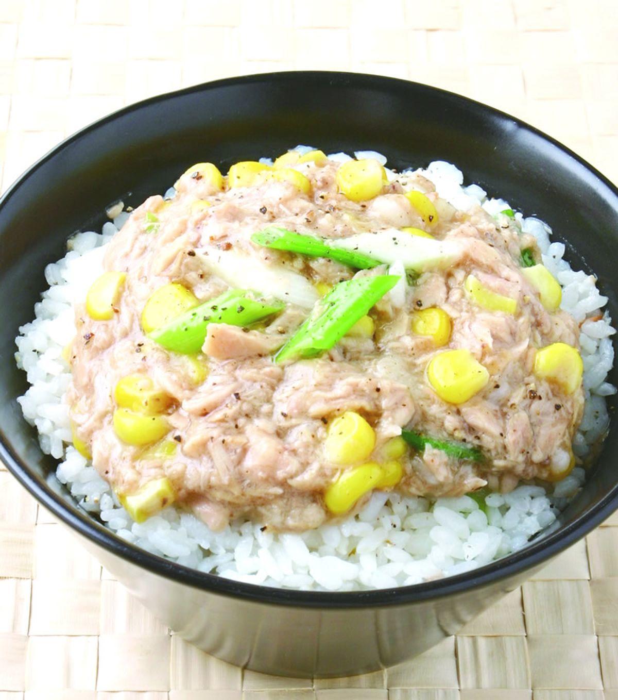 食譜:玉米鮪魚飯