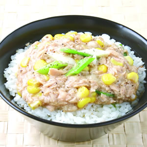 玉米鮪魚飯