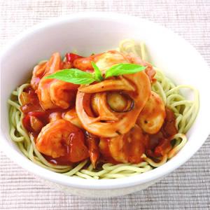 肉醬海鮮麵