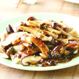 蠔油拌蕈菇