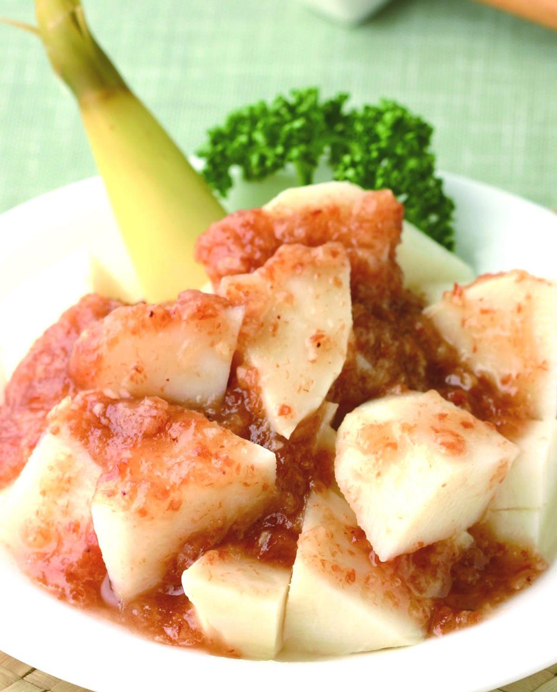食譜:梅醬筍丁