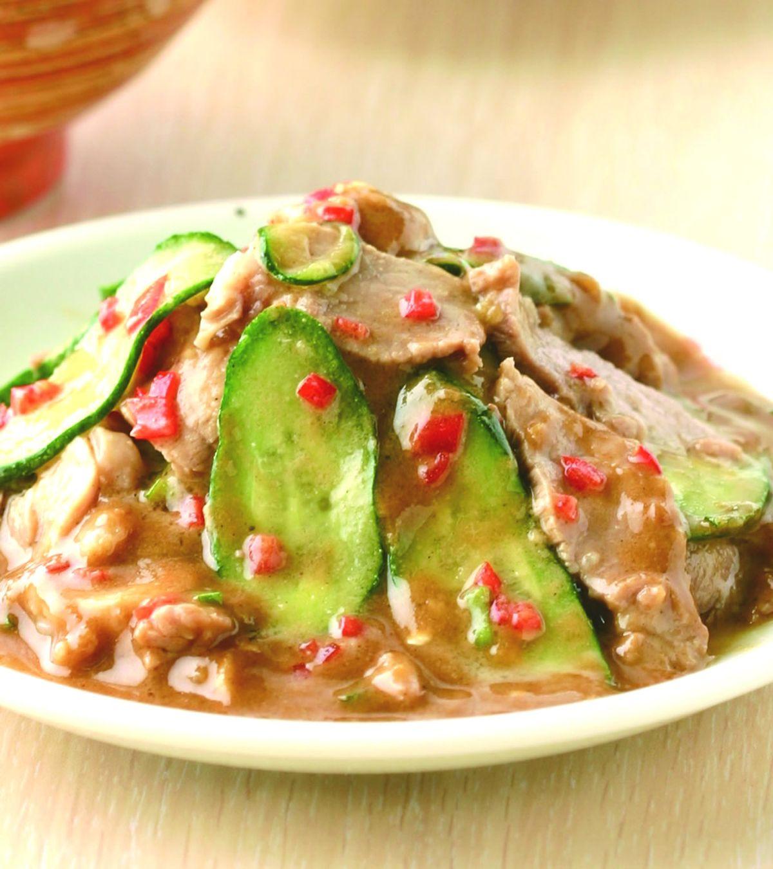 食譜:麻醬肉片