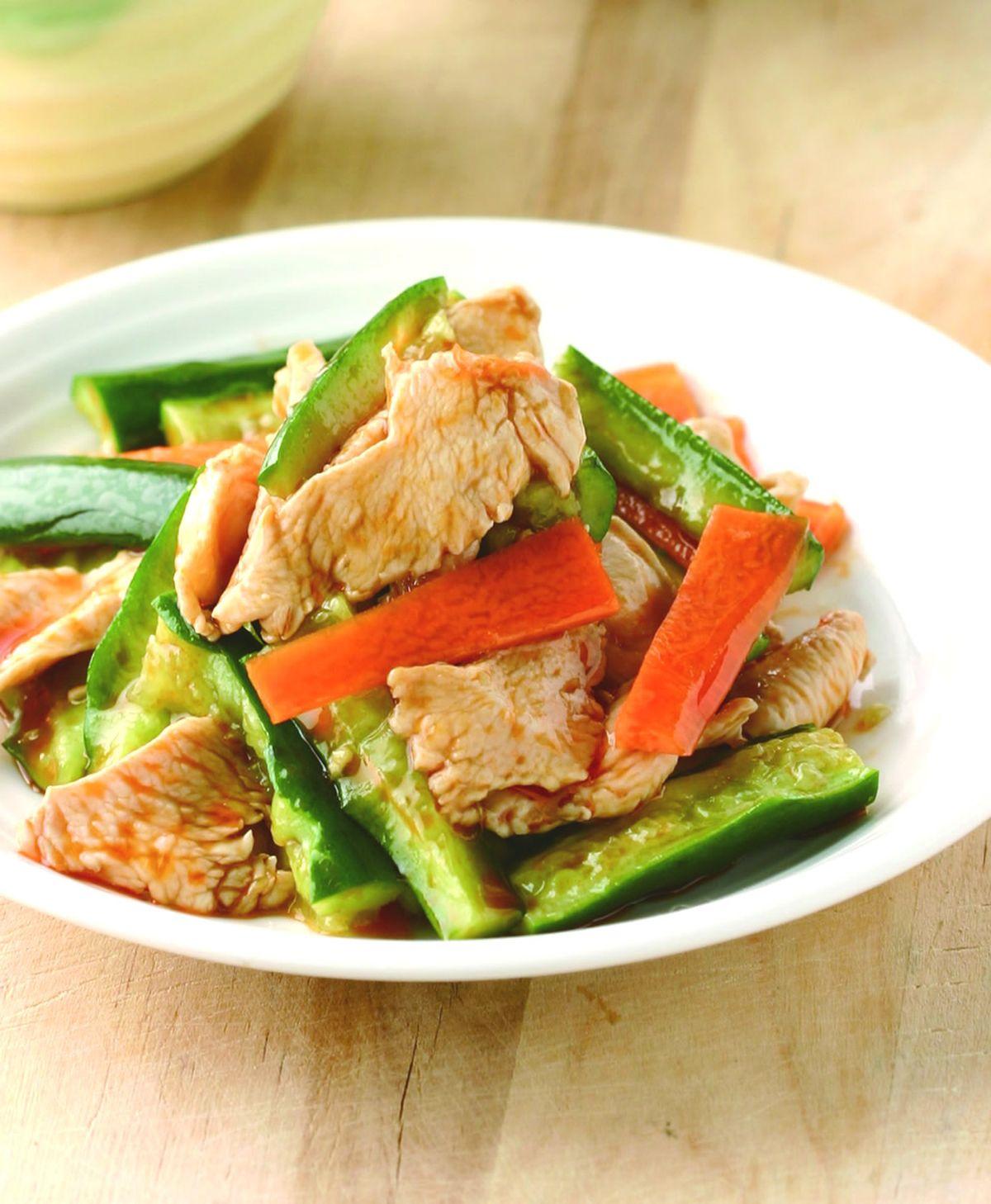 食譜:黃瓜雞片