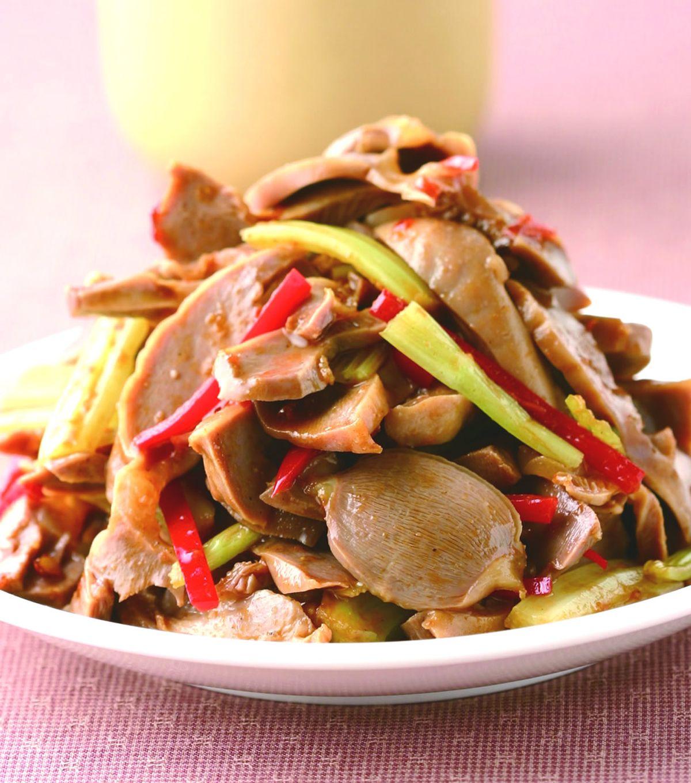 食譜:辣味雞胗(2)