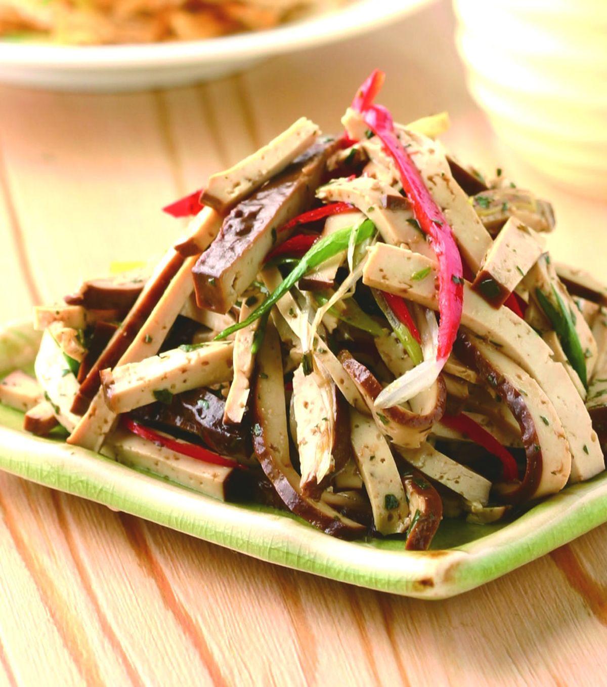 食譜:香椿豆干絲
